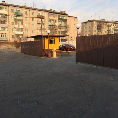 г. Райчихинск Автостоянка